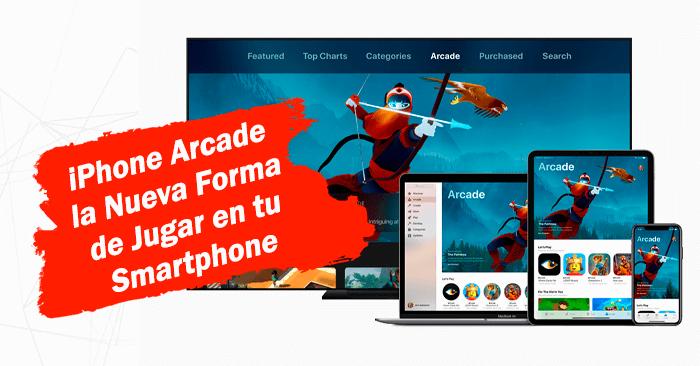 cambiar tu android por un iphone arcade